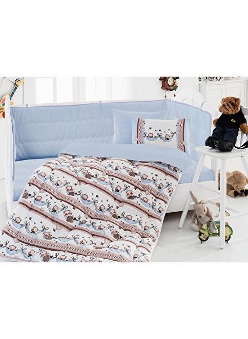 Cotton Box Tek Kişilik Uyku Seti Mavi